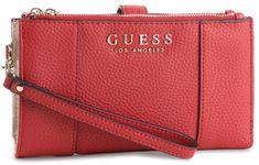 3072dec304e91 Guess czerwony portfel damski