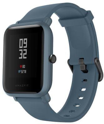 Smartwatch Xiaomi Amazfit Bip Lite, długa żywotność baterii, multi sport, tętno, strefy serca, Gorilla Glass
